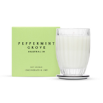 lemongrass and lime peppermint grove candle