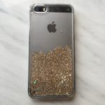 Gold Glitter iPhone