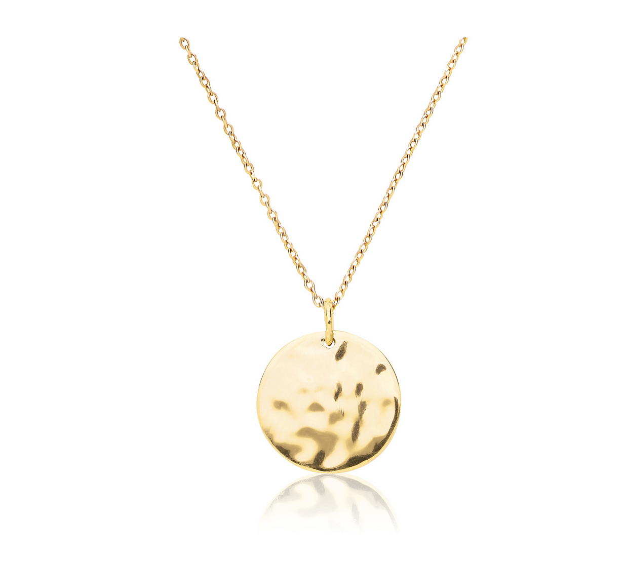 Stara gold disc necklace evie loves toast stara gold disc necklace aloadofball Gallery