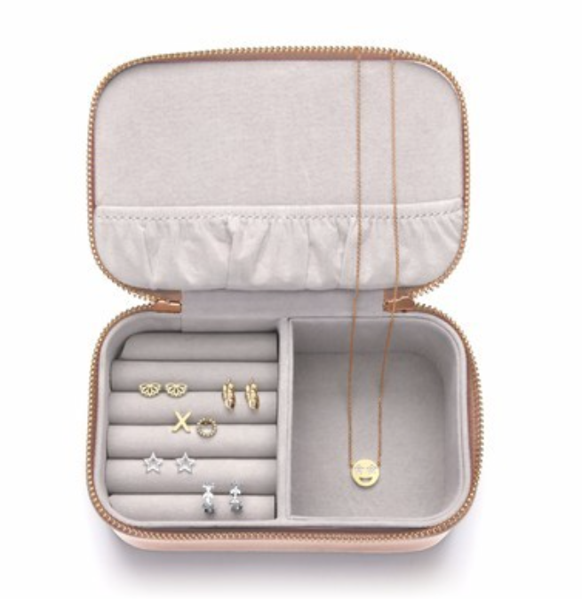 Estella Bartlett Blush Pink Mini Jewellery Box Evie Loves Toast