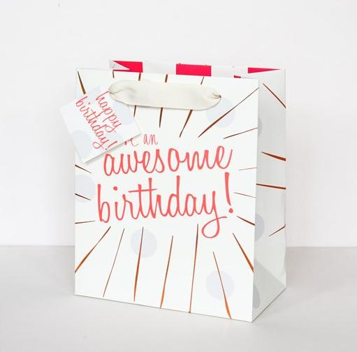 Neon Gift Bag