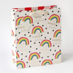 Large Rainbow Gift Bag