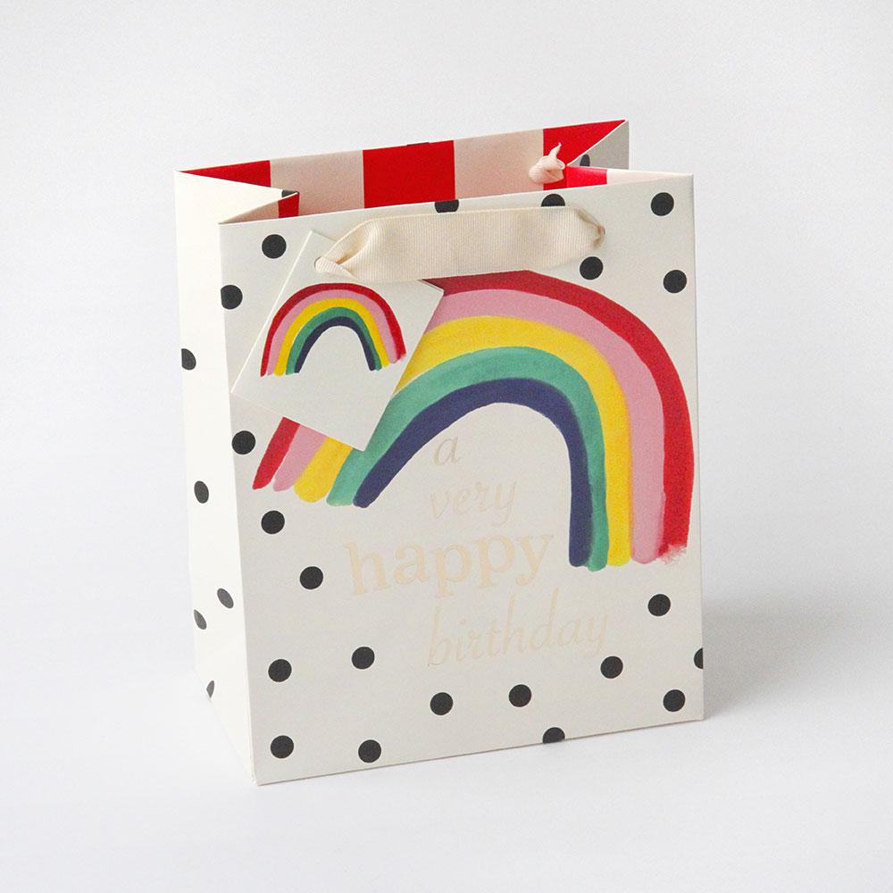 Rainbow gift bag