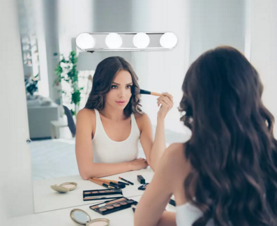 Hollywood suction mirror