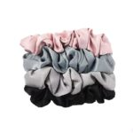 Satin silk scrunchie