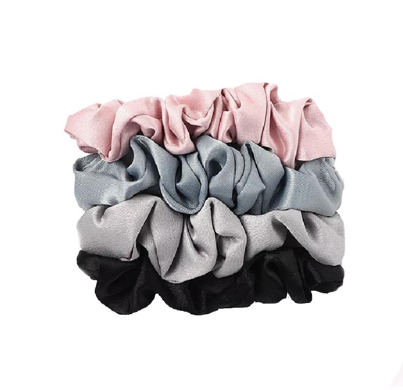 Satin silk scrunchie
